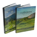 Vol 1 & Vol 2 of The Confidential Guide to Golf Courses Signed by Tom Doak JSA ALOA