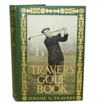 1913 Travers Golf Book by Jerome D. Travers