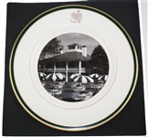 Augusta National Golf Club Pickard Plate - Clubhouse Depiction