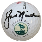 Jack Nicklaus Signed Pebble Beach Golf Links Logo Golf Ball JSA ALOA