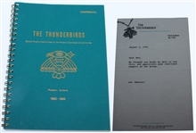 The Thunderbirds Confidential Address Book 1993-1994 with Note to Ben Hogan from Big Chief Scott Jackson