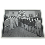 Ben Hogans Personal 1949 Ryder Cup American Team Dinner Original Black and White 8 x 10 Photo
