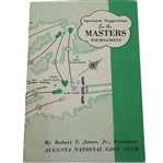 1952 Masters Spectator Guide - Sam Snead Win