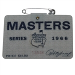 1966 Masters Tournament Badge #15596 - Jack Nicklaus Winner