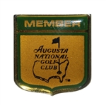 Augusta National Golf Club 1980s Metal Members Pin - Seldom Seen