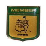 Augusta National Golf Club 1985 Metal Members Pin - Seldom Seen