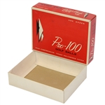 Pro-100 High Compression Vulcanized Cover Dozen Golf Balls Box Only - Roth Collection