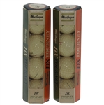Two Classic Sleeves MacGregor DX Tourney High Compression Golf Balls