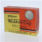 Wilson Walker Cup Dozen Golf Balls - Box Only - Roth Collection
