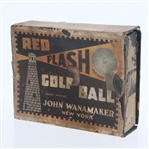 Red Flash Recessed Marking Dozen Golf Balls - Box Only - Roth Collection