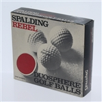 Spalding Rebel Duosphere Dozen Golf Balls - One Sleeve Only - Roth Collection