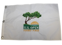 2008 Us Open at Torrey Pines Embroidered Flag - Tiger Last Major Win