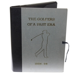 J.H. Wilson Ltd Ed. Book The Golfers of a Past Era 1884-94 #223/1000