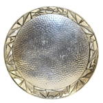 Unique Art Deco Metal Plate - Made in Japan