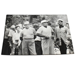 Ben Hogan and Sam Snead Black and White Sports Illustrated Original Photo - Houston CC Match
