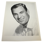Ben Hogan 14 x 11 Black and White Headshot - Smiling