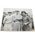 Ben Hogan, Byron Nelson, and Jimmy Demaret Large Black and White Photo