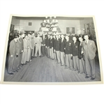 1949 Ryder Cup American Team Dinner Original Black and White 8 x 10 Photo