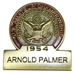 1954 US Amateur Champ Arnold Palmer Commemorative Contestant Badge-Limited Distribution!