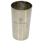 1960 US Open Championship Sterling Silver Cup Gift - Arnold Palmer Winner