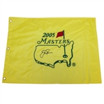 Jack Nicklaus Signed 2005 Masters Embroidered Flag - Final Masters JSA ALOA
