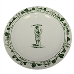 "Bobby Jones Depicted on The Broadmoor Ceramic 12"" Plate"