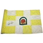 Arnold Palmer Signed Yellow & White Course Used Flag from Treesdale CC JSA ALOA