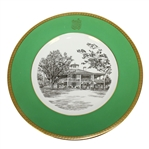 Augusta National Clubhouse Wedgwood Bone China Ltd Ed Plate #111 - Gifted to Bobby Jones Son Robert Tyre III