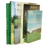 Five History of Golf Clubs Books - Muirfield, Baltusrol, Onwentsia, Hendersonville, & Royal Montreal - Roth Collection