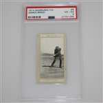 1914 James Braid Marsuma Co. Cigarette Golf Card #8 - PSA#27791285