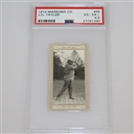 1914 J.H. Taylor Marsuma Co. Cigarette Golf Card #45 - PSA#27791290