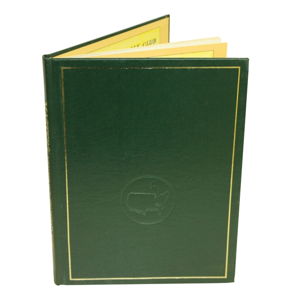 1978 Masters Tournament Annual Book - Gary Player Winner