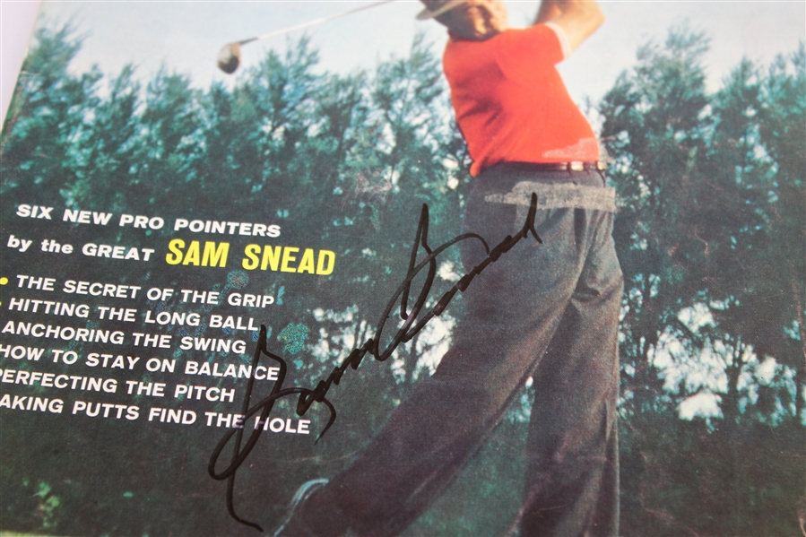 Two Sam Snead Signed Magazines - 1960 Golf and 1972 Golf Digest JSA ALOA