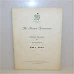 1972 Masters Tournament Scoring Records and Statistics Book