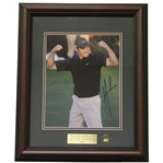 Trevor Immelman Signed Masters Shot Display - Framed JSA ALOA