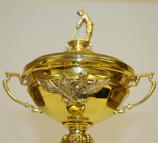 Deane Beman's (Commissioner of the PGA Tour) Original 1991 Ryder Cup at Kiawah Island Trophy