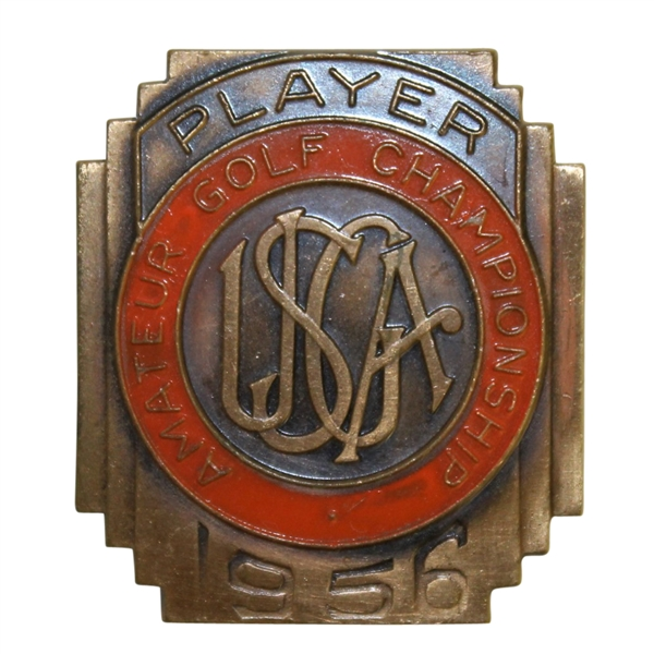 Deane Beman's 1956 US Amateur Championship  U.S.G.A. Contestants Badge
