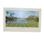 Arnold Palmers Bay Hill Members Gift 17th Hole Print with Envelope
