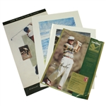 Four Signed Posters - Gary Player, Lee Trevino, Ken Venturi, and Al Geiberger JSA ALOA