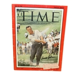 Arnold Palmer Signed May 1960 Time Magazine JSA #Q49424