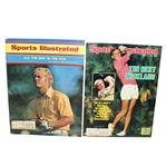 Two Jack Nicklaus Signed Sports Illustrated Magazines - 1971 JSA #P36686 & 1985 JSA #36704