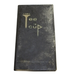 From Tee to Cup Instructional Booklet by Sid James