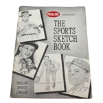 1959 Phillies Sports Library The Sports Sketch Book Booklet