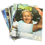Assorted Arnold Palmer Cover Magazines - 13 Total