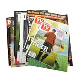 Assorted Tiger Woods Cover Magazines - 14 Total