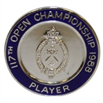 1988 Open Championship at Royal Lytham Contestant Badge - Seve Ballesteros Winner