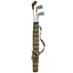 Childrens Miniature Golf Bag with Clubs & Ball