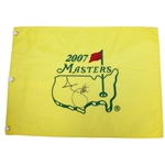 Adam Scott Signed 2007 Masters Embroidered Flag JSA ALOA