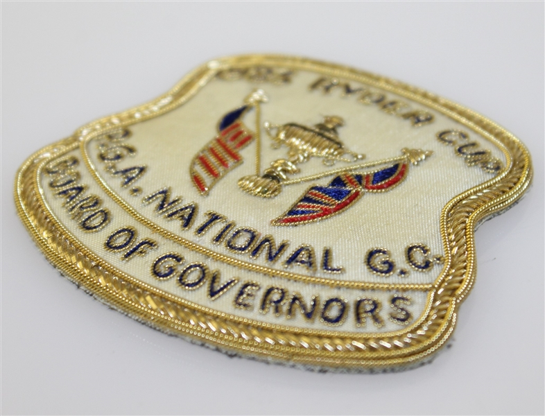 Deane Beman's 1983 Ryder Cup at PGA National Golf Club Board of Governors Patch