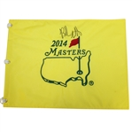 Bubba Watson Signed 2014 Masters Embroidered Flag JSA ALOA